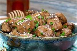 नॉन वेज खाने के शाैकीन घर पर बनाएं Honey Garlic Chicken