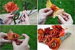 Maple Leaf से बनाएं फूल और सजाएं घर