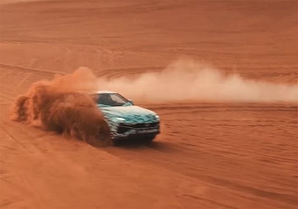 Lamborghini ने जारी किया SUV Urus का टीजर वीडियो