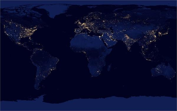 हर साल 2.2 प्रतिशत तक अधिक जगमगा रही है पृथ्वी : रिपोर्ट