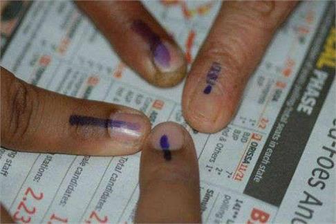 यूपी निकाय चुनावः पहले चरण के संग्राम की समाप्ति, 55 फीसदी रहा मतदान