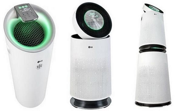 LG ने लांच किए अपने तीन नए Air purifiers