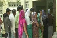 कड़ी सुरक्षा व्यवस्था के बीच विधानसभा की सिकन्दरा सीट पर मतदान जारी