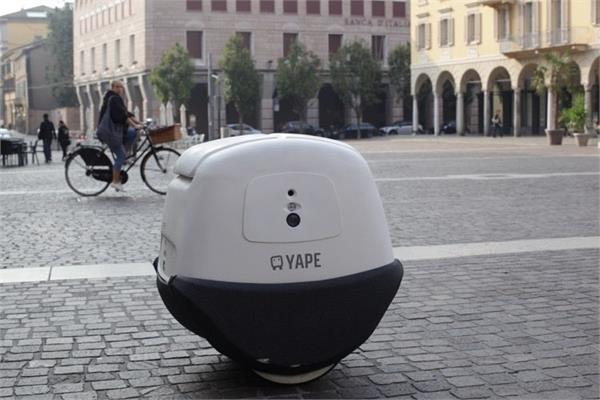 घर तक खाना पहुंचाने में मदद करेगा इटालियन डिलीवरी ड्रोन