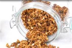 Cinnamon Walnut Granola