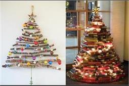 Christmas Special: इन डिफरेंट तरीके से घर पर खुद बनाएं क्रिसमस ट्री