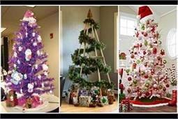इन 5 तरीकों से सजाएं क्रिसमस ट्री
