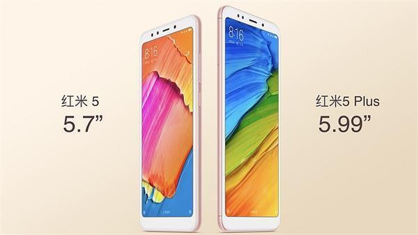 Xiaomi Redmi 5 और Redmi 5 Plus लांच,जानें कीमत और खूबियां