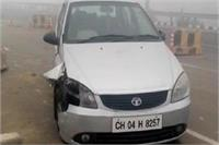 ताजनगरी आगरा में दिखा कोहरे का कहर, धुंध के चलते टकराईं गाड़ियां