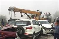 कोहरे का कहर: यमुना एक्सप्रेस-वे पर भिड़ीं कई गाड़ियां, ऑस्ट्रेलियाई नागरिक की मौत