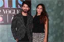 Vogue BFFs में मैचिंग ड्रैस पहनकर पहुंचे शाहिद और मीरा