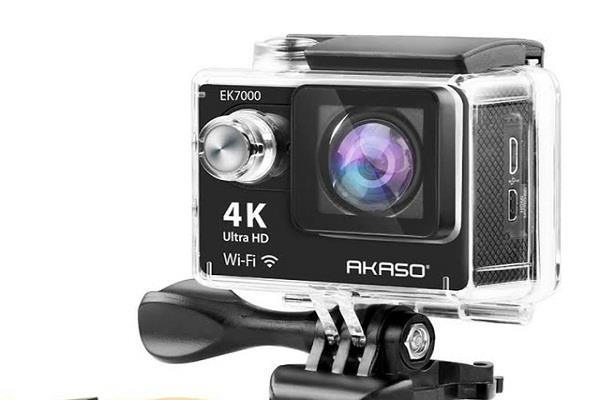 भारत में शुरू हुई AKASO EK7000 4K कैमरे की बिक्री, कीमत 7,999 रुपए