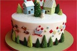 क्रिसमस डैकोरेशन ही नहीं, केक को भी बनाएं स्पैशल