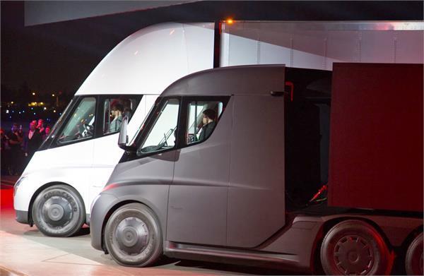 PepsiCo ने उत्पादन से पहले ही बुक किए 100 टैस्ला इलैक्ट्रिक सैमी ट्रक