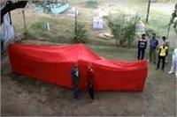 ताजनगरी में देखने को मिला अखिलेश का क्रेज, दीवानों ने बनाई सबसे बड़ी 'सपा टोपी'