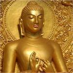 गजबः नाले की सफाई के दौरान कर्मचारियों के हाथ लगी महात्मा बुद्ध की मूर्ति