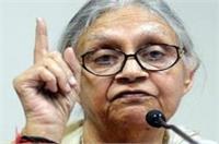 अगर पार्टी चाहेगी तो उत्तर प्रदेश में करुंगी प्रचार: शीला दीक्षित