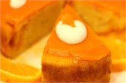 कुकर में बनाएं ऑरेन्ज केक