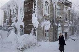 तस्वीरों में देखें, दुनिया का सबसे ठंडा गांव
