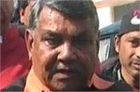 बीजेपी में बगावत: सांसद ने कहा-नहीं करूंगा पार्टी के लिए चुनाव प्रचार