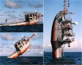 यह शिप 90 डिग्री तक समुद्र में हो जाता है सीधा खड़ा!