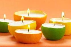 इन फलों के छिलकों को फैंके नहीं,ऐसे बनाएं कैंडल