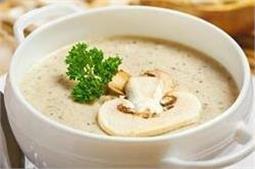 क्रीमी मशरूम सूप