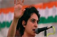यूपी: प्रियंका गांधी अमेठी और रायबरेली में आज करेंगी चुनाव प्रचार