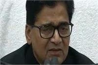 जिनके भरोसे नई पार्टी का सपना देख रहे हैं उनकी हैसियत 200 वोटों की: रामगोपाल