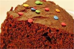 एगलैस चॉक्लेट स्पंज केक