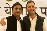 भाजपा, बसपा को खत्म करेगा प्रदेश में सपा-कांग्रेस गठबंधन: राहुल, अखिलेश