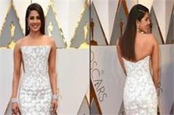 Oscar में ऐसी ड्रैस पहन कर पहुंची प्रियंका