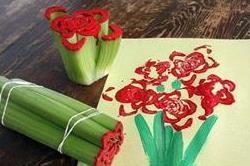 सब्जियों से सिखाएं बच्चों को Easy Painting