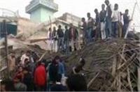 कानपुर: निर्माणाधीन इमारत गिरने से 12 मजदूरों की मौत, मचा हड़कंप