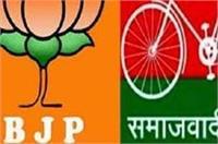 चुनाव आचार संहिता का उल्लंघन करने के लिए SP विधायक, BJP प्रत्याशी पर मामला दर्ज