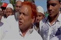 अखिलेश के मंत्री का विवादित बयान, कांग्रेस को बताया शैतान