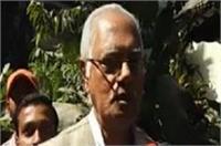 35 साल से लगातार भाजपा विधायक श्याम देव चौधरी ने राजनीति से संन्यास का किया ऐलान