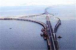 तस्वीरों में देखें, दुनिया का सबसे लंबा पुल