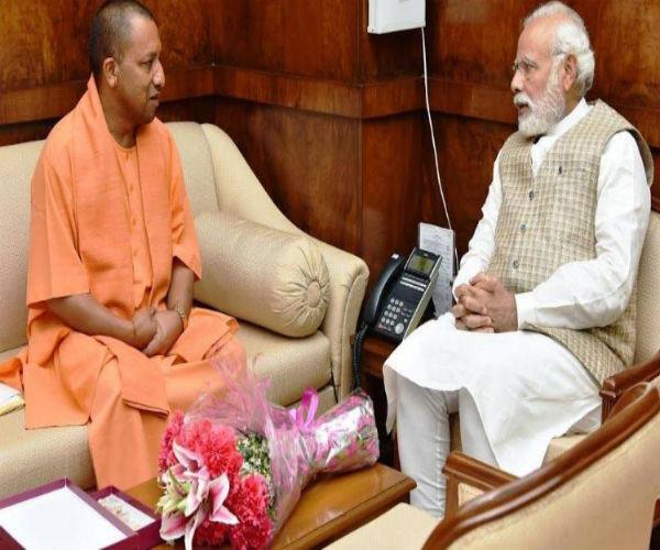 मोदी-राजनाथ-शाह से CM योगी ने की मुलाकात, विभागों के बंटवारे पर फैसला जल्द