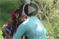 योगीराज में 'लव ऑन द पार्क': सरेआम अश्लील हरकतें करते नजर आये जोड़े
