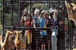 अनोखा चिड़ियाघर! इंसानों को कर देता है पिंजरे में बंद