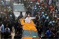 UP चुनाव: वाराणसी में PM मोदी का शक्ति प्रदर्शन, कांग्रेस ने बताया आचार संहिता का उल्लंघन
