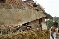 निर्माणाधीन मकान की दीवार गिरी, 3 मजदूरों की दर्दनाक मौत