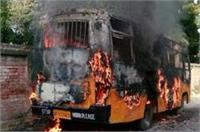 इलाहाबाद विश्वविद्यालय परिसर में तोडफ़ोड़- आगजनी, 22 लोग गिरफ्तार