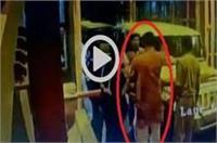 सत्ता के नशे में चूर BJP विधायक ने टोल प्लाजा के कर्मचारी को जड़ा तमाचा