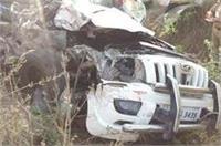 वाराणसीः जीप और बस की टक्कर में पीएसी जवान समेत 7 लोगों की मौत