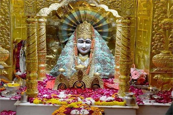 मां मनसा देवी मंदिर में नवरात्रों पर श्रद्धालुअों ने चढ़ाया डेढ़ करोड़ का चढ़ावा