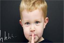 बच्चे के पहले झूठ को न करें नजरअंदाज