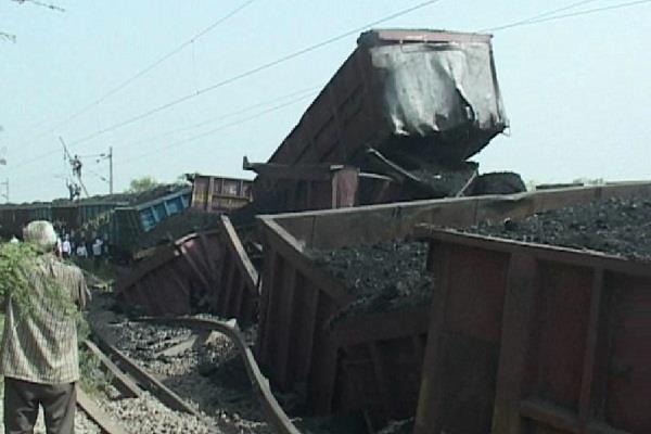 अंबाला-सहारनपुर रेल मार्ग के बीच पलटी कोयले से भरी मालगाड़ी, दर्जनों गाड़ियां प्रभावित