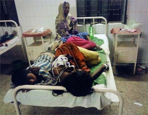 कुशीनगर में रसगुल्ला खाने से बच्चों समेत 125 बीमार, बुलानी पड़ी 18 एंबुलेंस